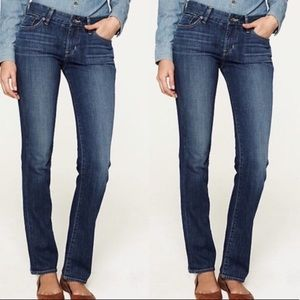Lucky Brand Distressed Sundown Straight Jean
